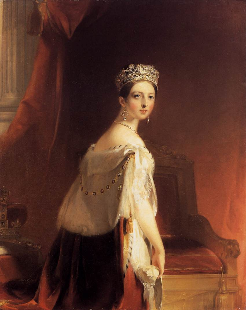 PORTRAIT OF QUEEN VICTORIA....jpg
