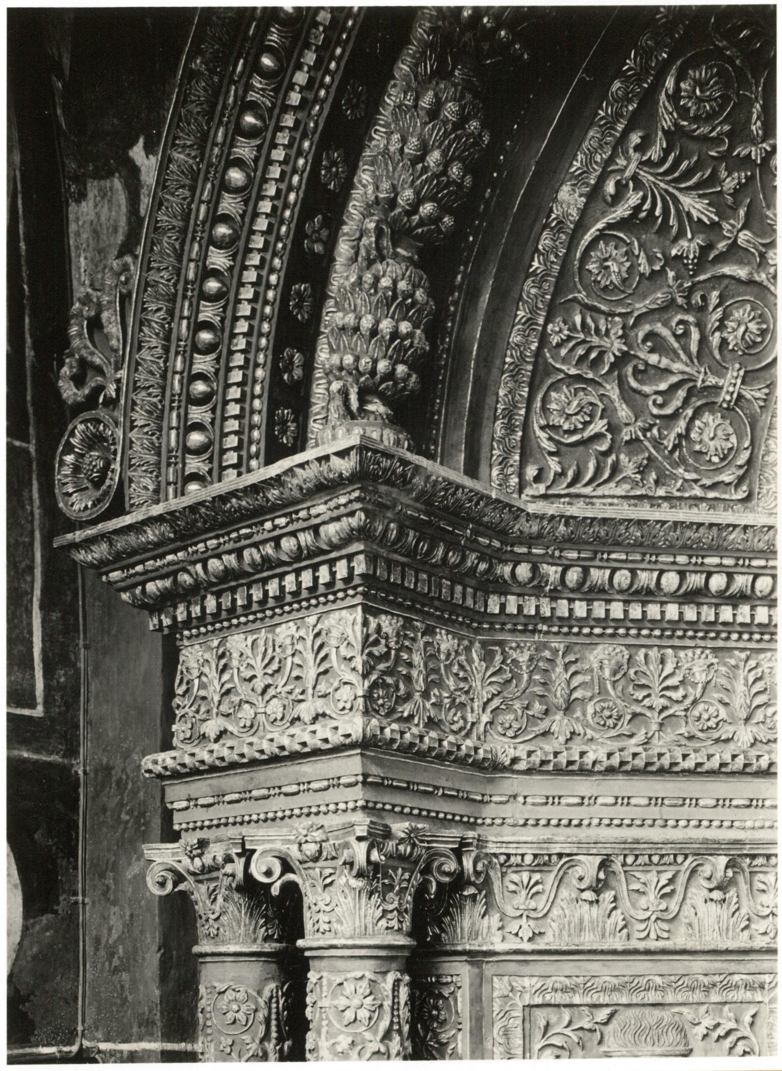 Кремль. Благовещенский собор. Вход (фрагмент)
