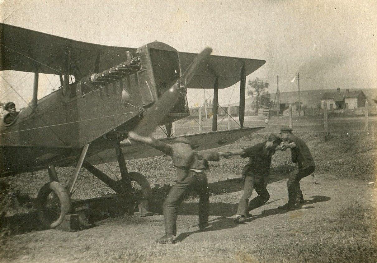 1935. Проверка работы мотора