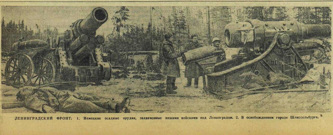 Красная звезда, 22 января 1943 года