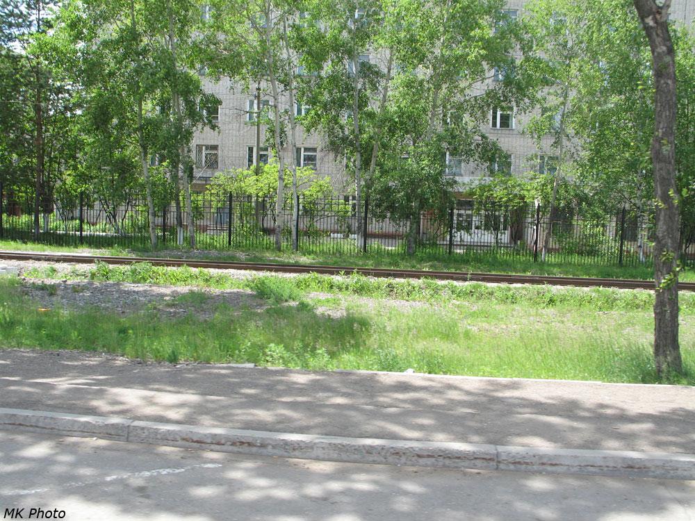 ДЖД на фоне краевой больницы