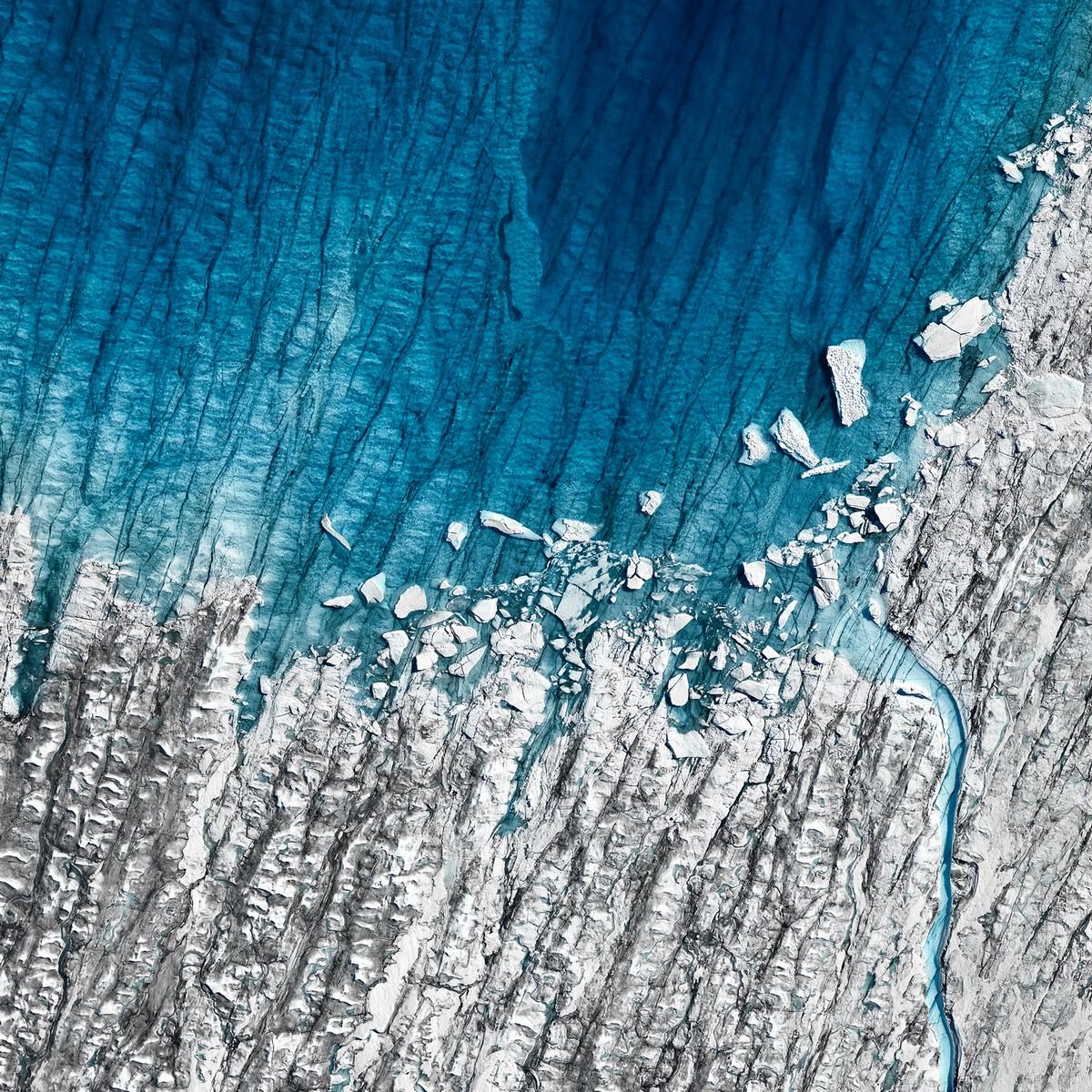 Оттепель: хрупкая красота тающих арктических льдов