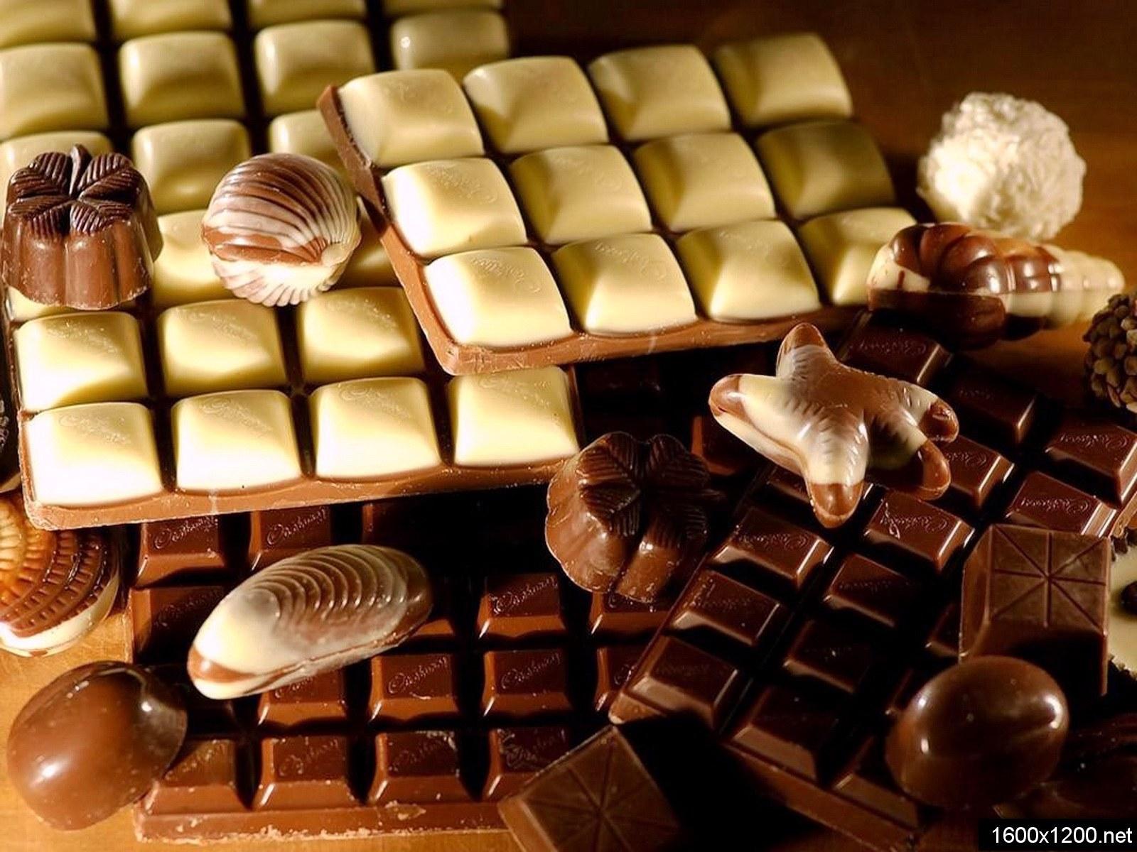 Открытки. С днем шоколада! Разные виды шоколада открытки фото рисунки картинки поздравления