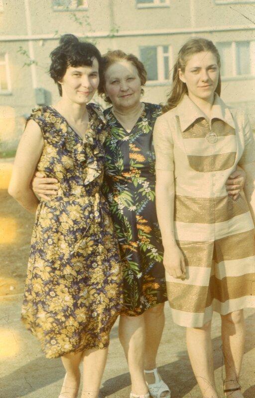 Мама, бабушка, тетя Галя