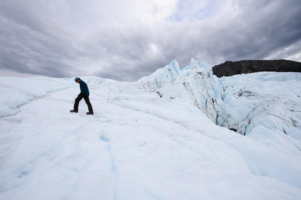10. На территории холодной достопримечательности Хардинг находится более тридцати ледников. Нес