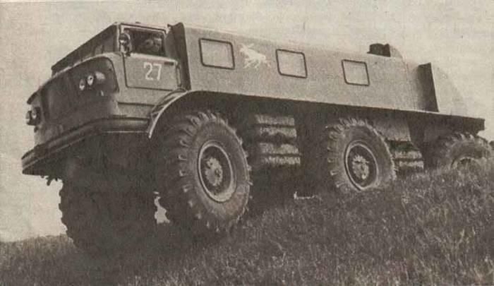 ЗиЛ-167 с честью прошёл все заводские испытания но в серию так и не пошёл, не смотря на то, что что
