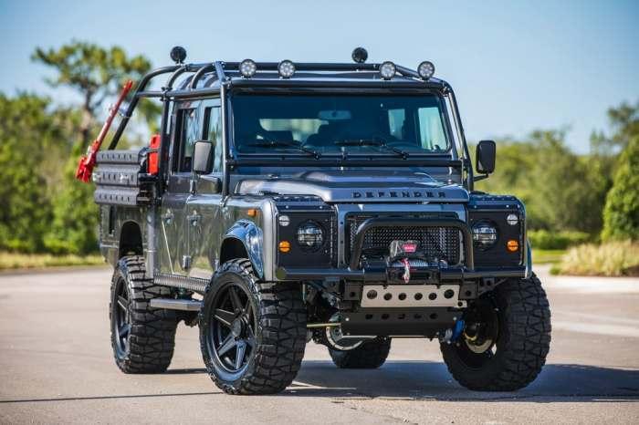 Энтузиасты превратили Land Rover Defender в лучший внедорожник в истории (8 фото)