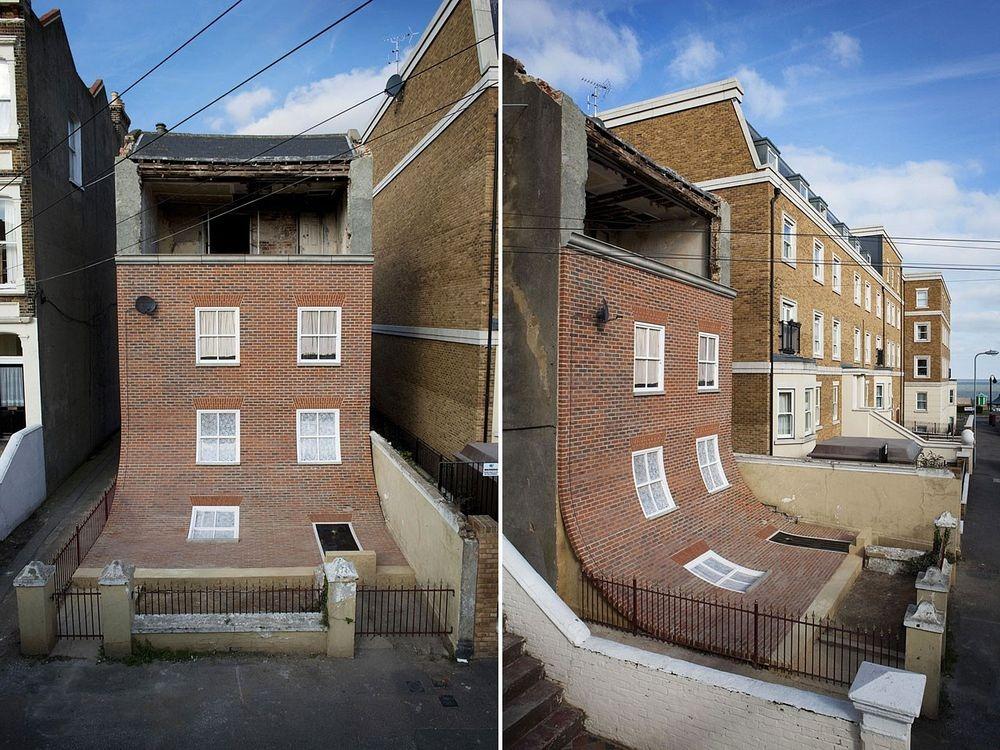 Этот дом больше 11 лет пустовал, а Чиннек превратил его в главную достопримечательность британского