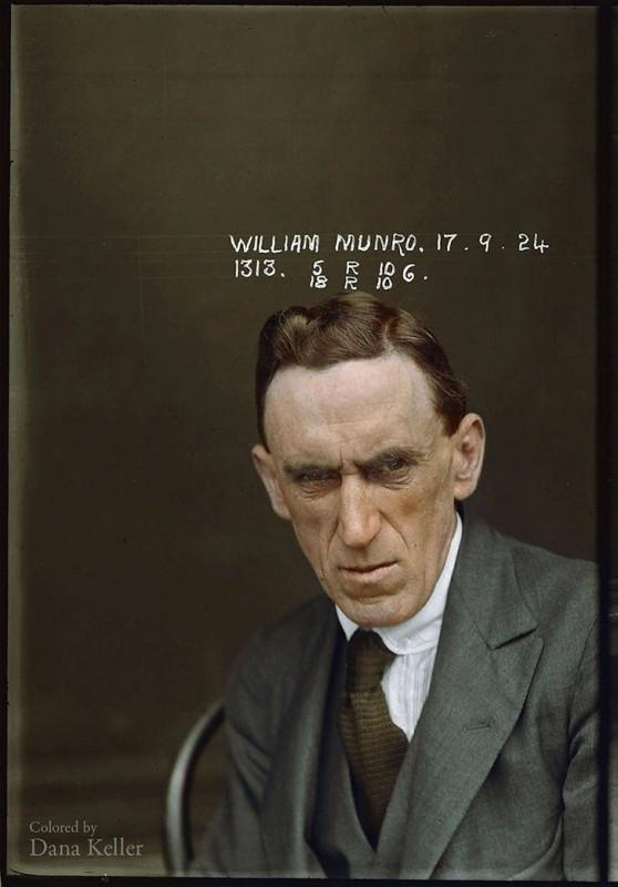 Уильям Монро, 1924 год. Скупал и продавал краденое.