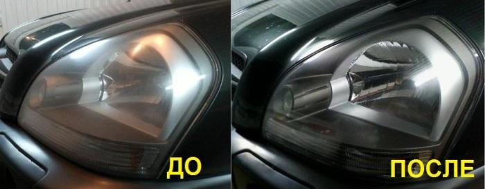 Полировка оптики очень улучшает внешний вид автомобиля.   Фото: 12volt.ua. После многих лет пребыван