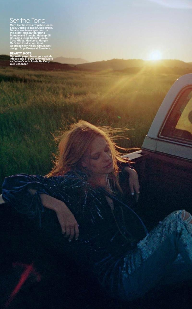 Селена Форрест и Лекси Болинг в Teen Vogue