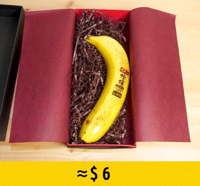 © imgur  Каждый такой банан упакован вотдельную коробку и имеет серийный номер . Бананы Goku