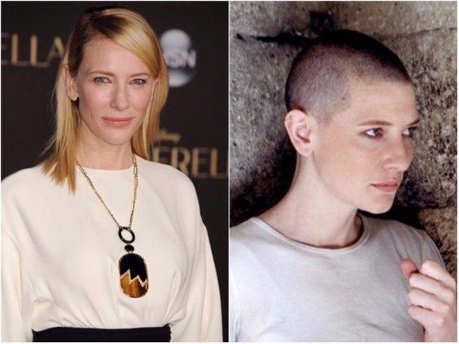 Кейт Бланшетт часто говорит, что не любит носить парики: ей куда интереснее