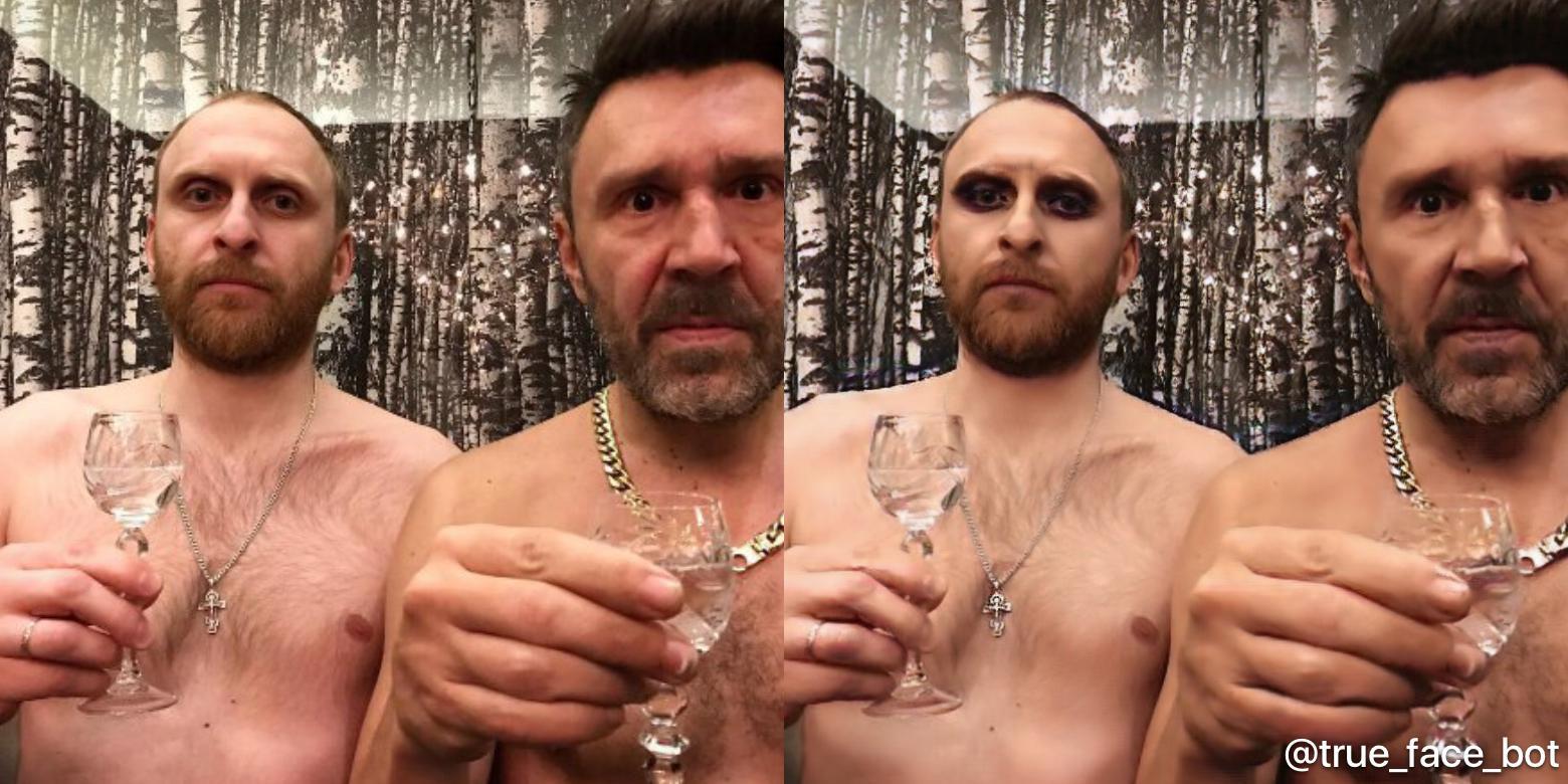 Сергей Шнуров (справа).