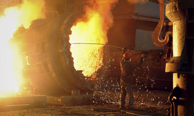 Украина может уменьшить выплавку стали до17-19 млн тонн