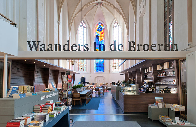 For many, reading a good book can be a religious experience, but this new bookstore in Zwolle, The N