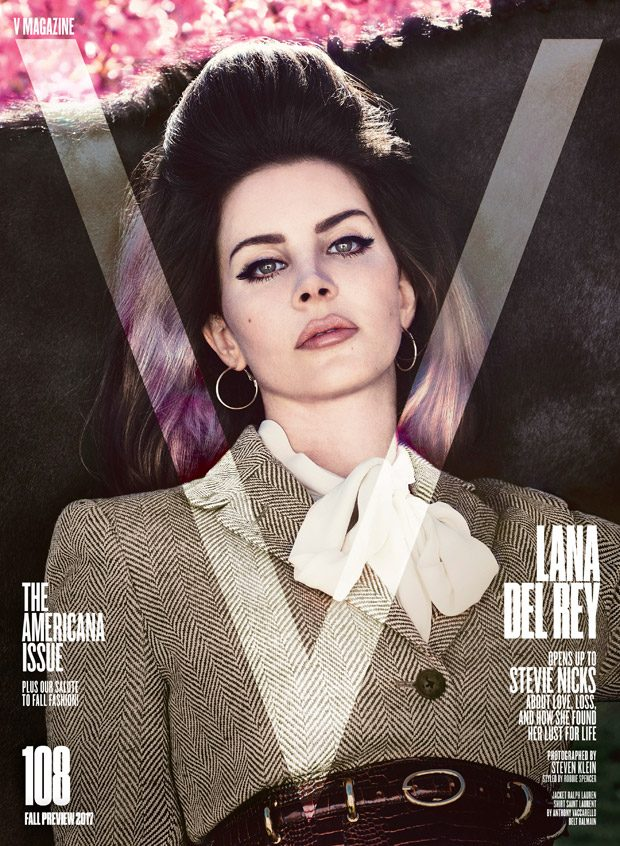 Lana Del Rey is the Cover Star of V Magazine Americana Issue