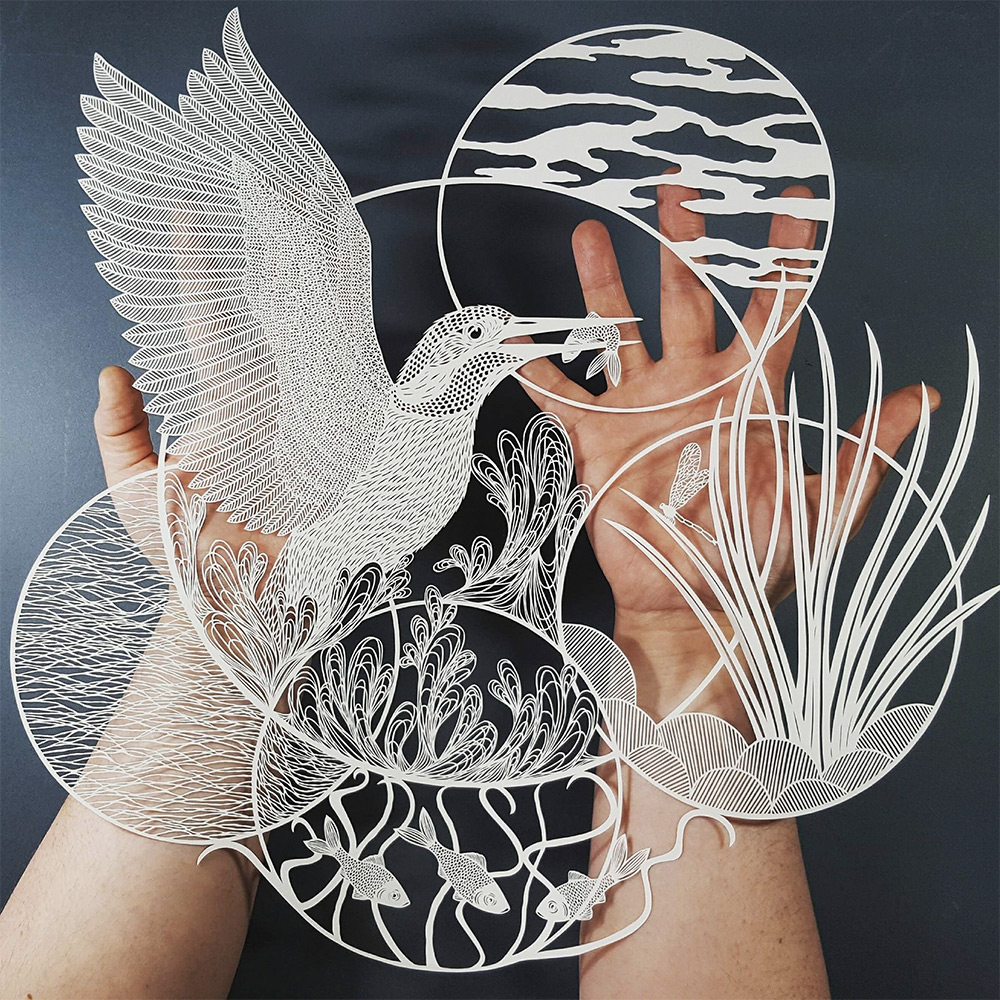 Superb Cut Paper Artworks by Pippa Dyrlaga (8 pics)