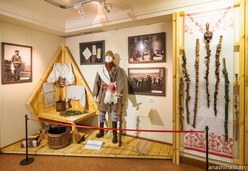 Зал «Натуральное хозяйство», Национальный музей Республики Карелия, Петрозаводск