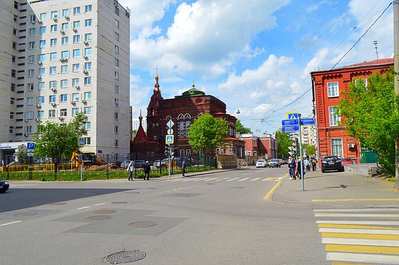 Москва, как она есть. Улица Щепкина.