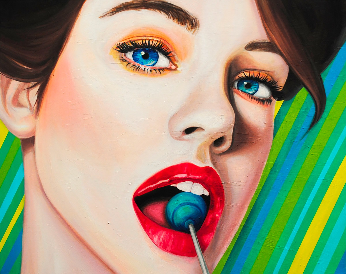 Girls & Sweets: Artworks by Michelle Tanguay