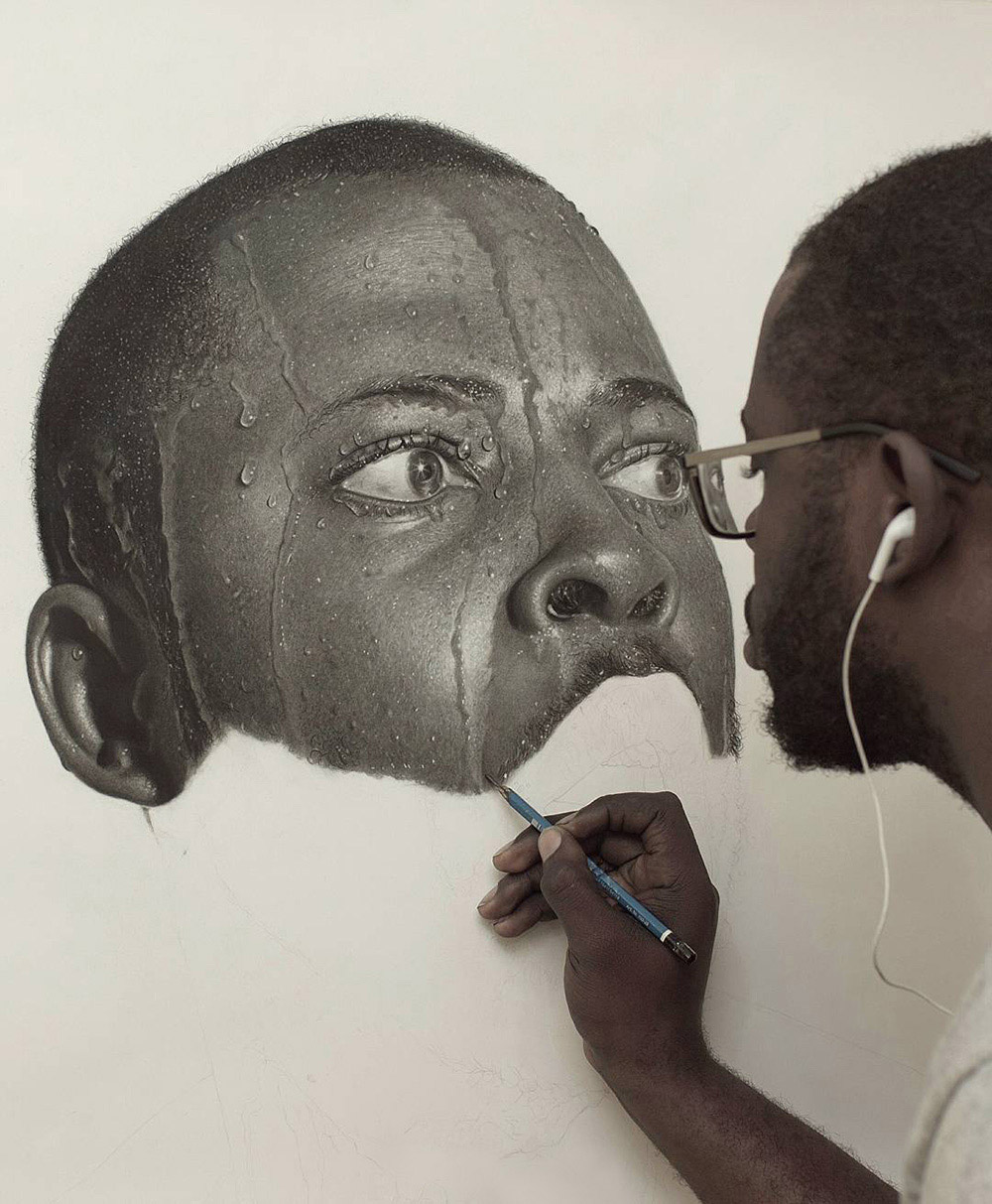 Hyper-Realistic Pencil Drawings by Arinze Stanley (14 pics)