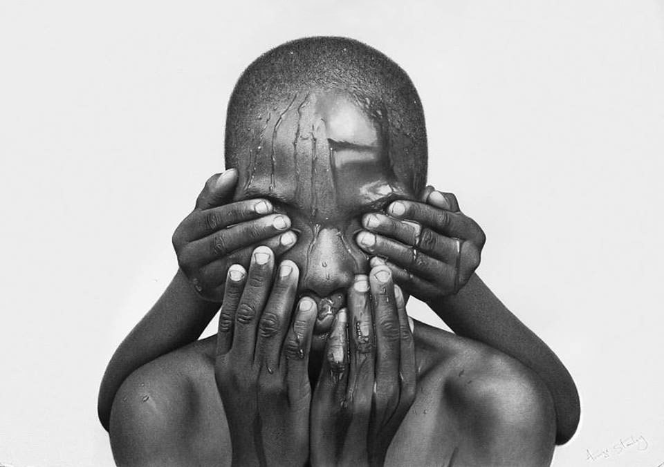 Hyper-Realistic Pencil Drawings by Arinze Stanley