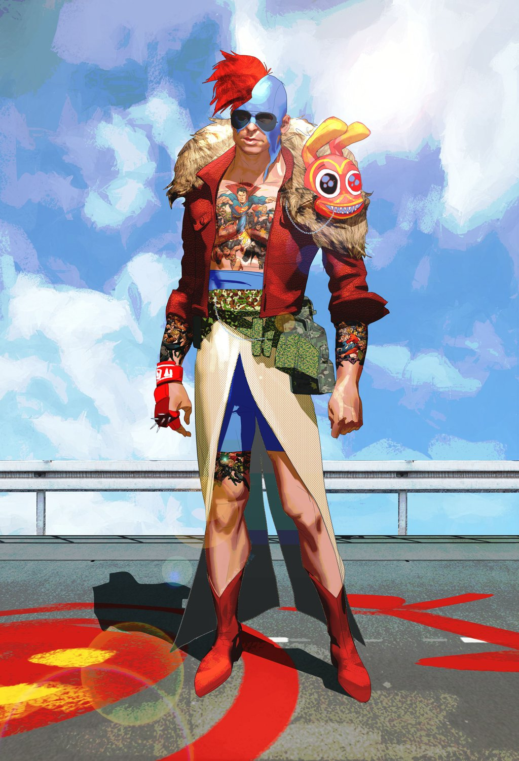 Sunset Overdrive Concept Designs by Julien Renoult