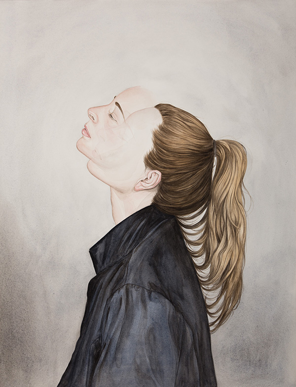 Deconstructed portraiture by Henrietta Harris