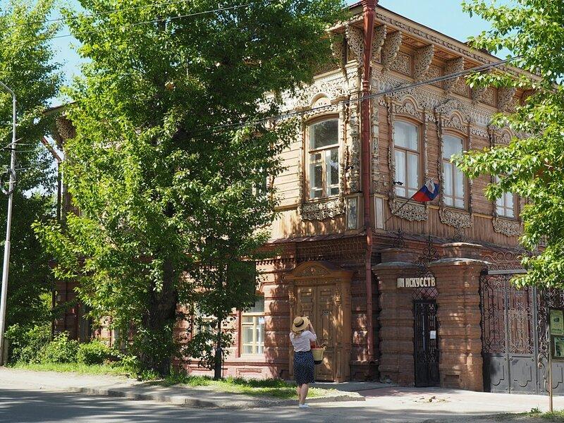 Томск, улица Шишкова (Tomsk, Shishkova street)