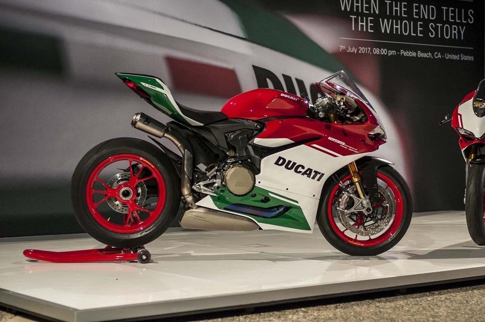 Детальные фотографии спортбайка Ducati 1299 Panigale R Final Edition 2017