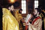 16.04.2000 г., Последняя литургия епископа Меркурия в Кафедральном соборе Христа Спасителя.