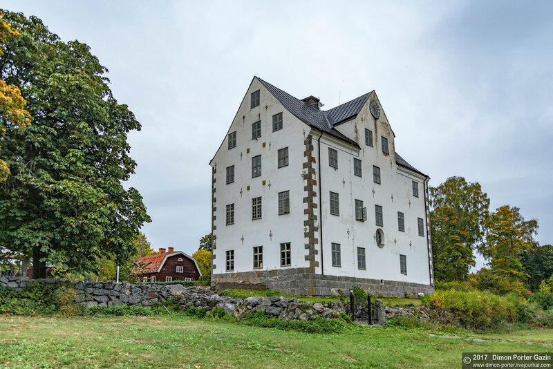 Эрсундсбро. Замок Салнеке