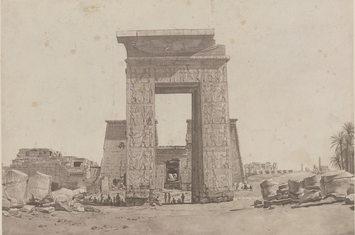 Карнак. Южные ворота