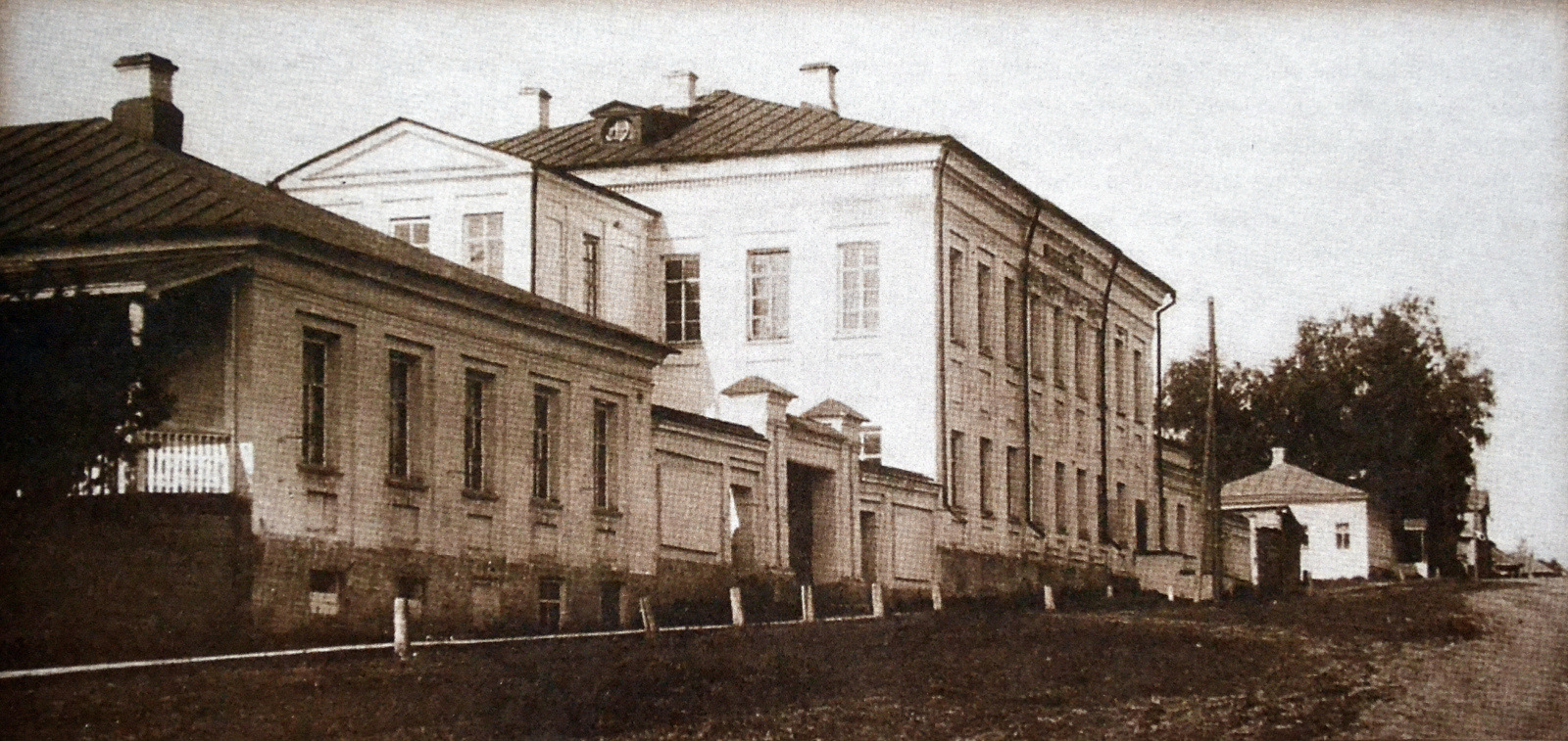 Здание публичной библиотеки им. императора Николая I