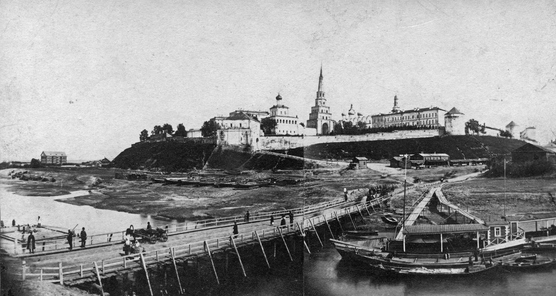 1880-1890. Панорама Кремля