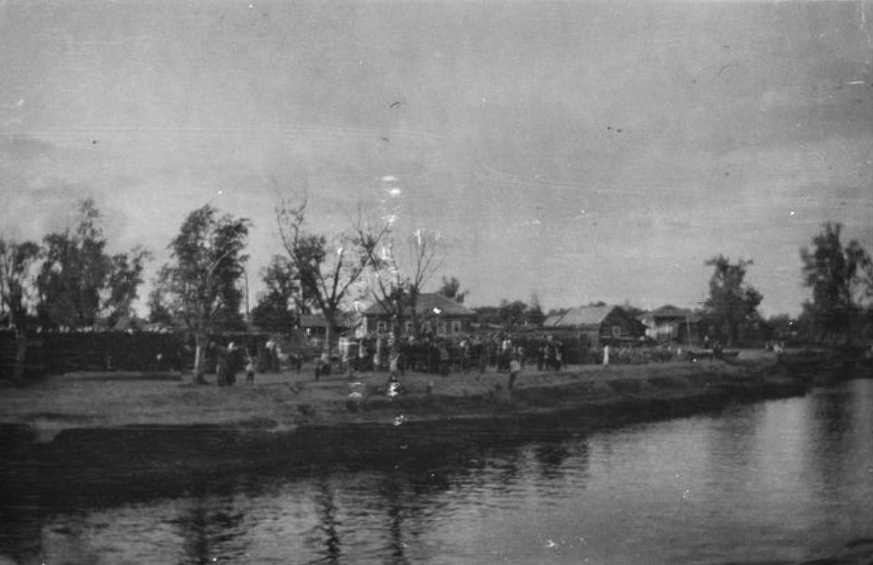 Наводнение в Тобольске. 1914