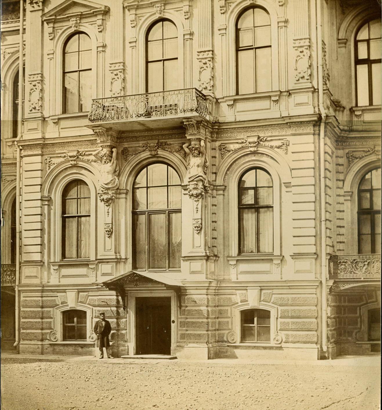 1868. Дворец великого князя Павла Александровича