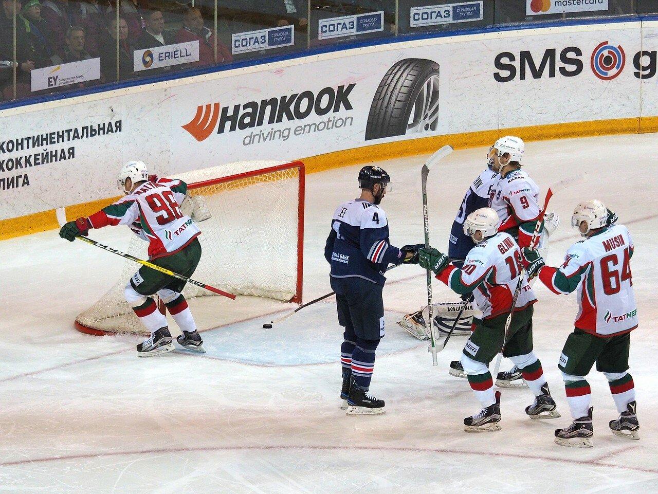 73 Первая игра финала плей-офф восточной конференции 2017 Металлург - АкБарс 24.03.2017