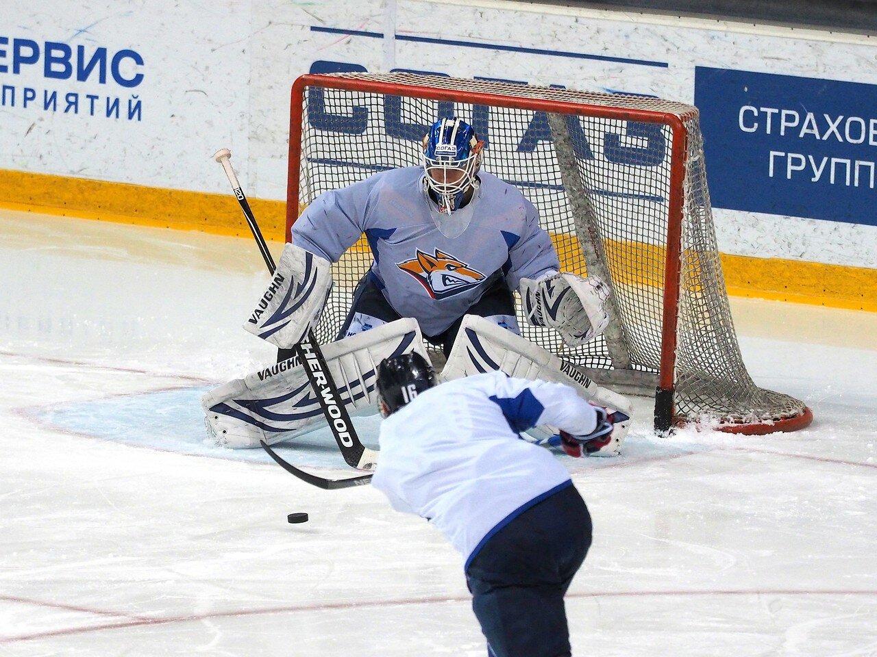 1 Открытая тренировка перед финалом плей-офф КХЛ 2017 06.04.2017