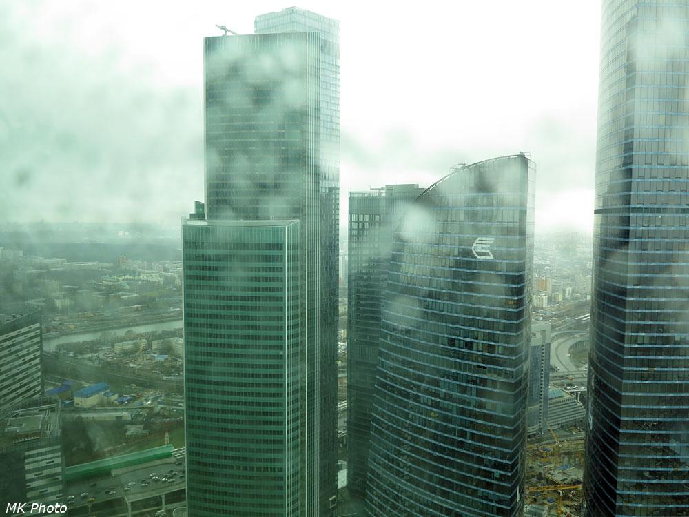 Башня Евразия и комплекс ОКО