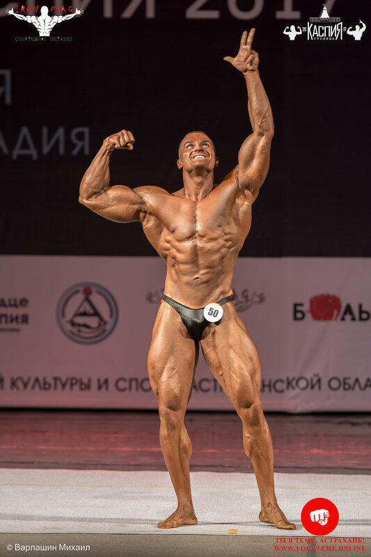 Кубок «Столица Каспия» по бодибилдингу 2017: Бодибилдинг свыше 90 кг