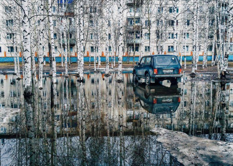 Удивительные  креативные снимки с российских просторов