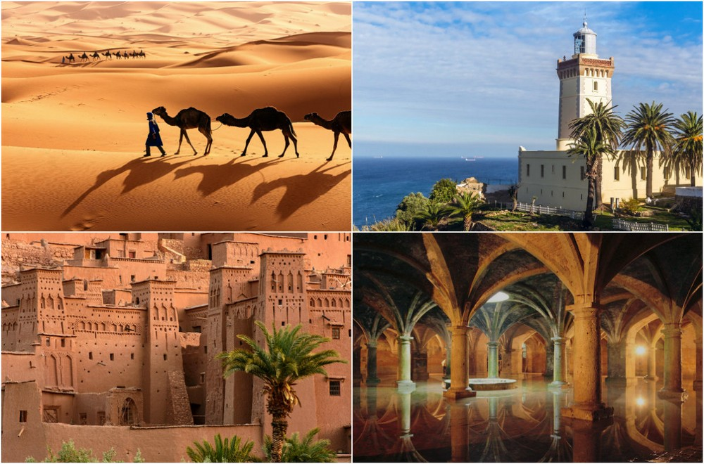 Яркие снимки красочного Марокко
