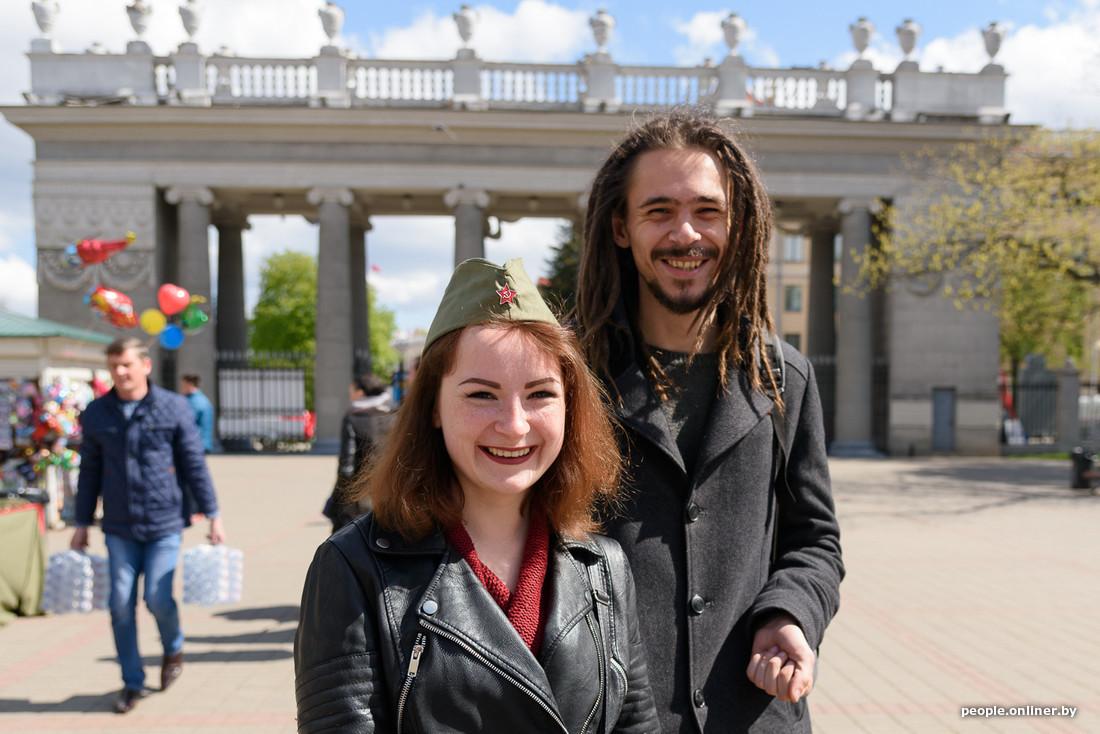 Празднование Дня Победы в Минске