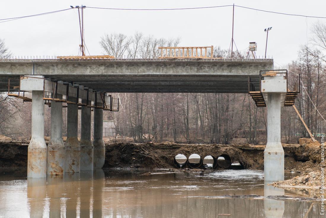 новый мост в Сарове