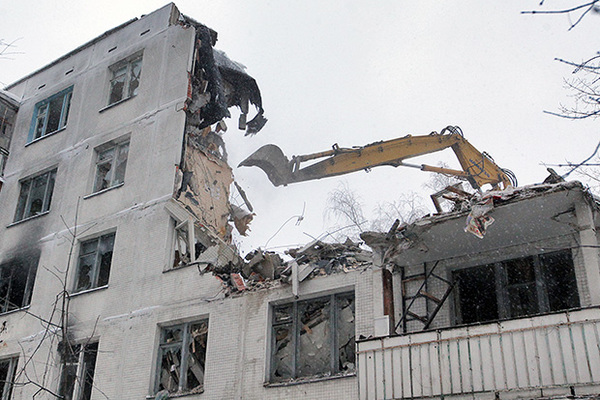Район Хамовники исключат изпрограммы посносу пятиэтажек