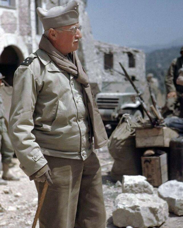 Troupes Françaises - Italie - 1944. Photos George Silk - LIFE.