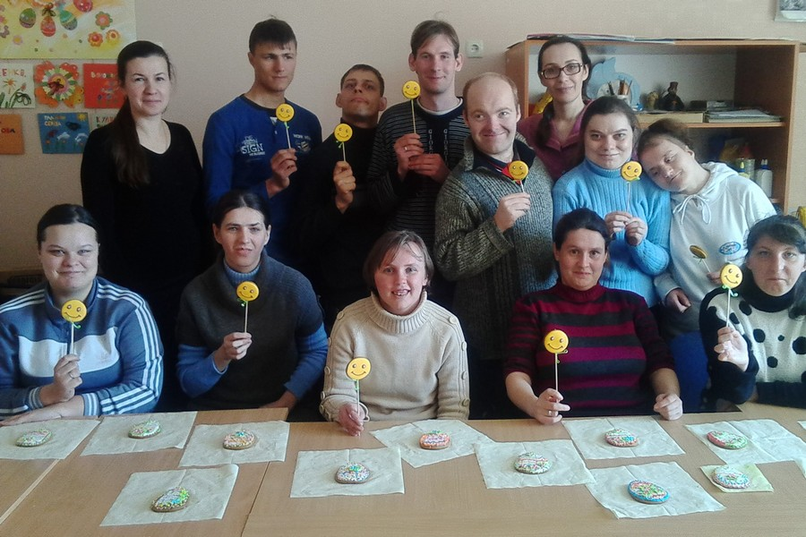 Пряничный мастер-класс в Алчевской лечебнице