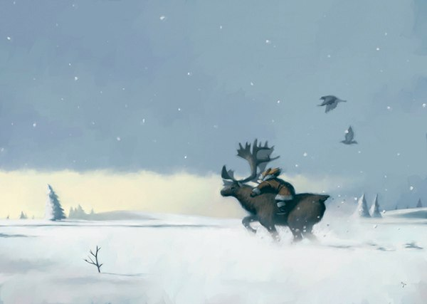 «Снежная королева»: иллюстрации giorgio baroni